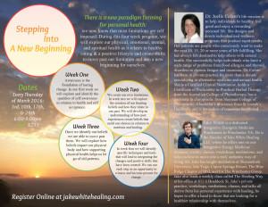 new beginning workshop flyer